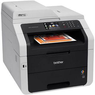 Brother MFC-9340CDW Farblaser Drucken/Scannen/Kopieren/Faxen LAN/USB 2.0/WLAN