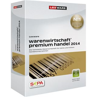 Lexware Warenwirtschaft Premium Handel 2014 Deutsch Finanzen Vollversion PC (CD)