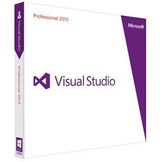 Microsoft Visual Studio 2013 Professional 32/64 Bit Deutsch Tool Update PC (DVD)