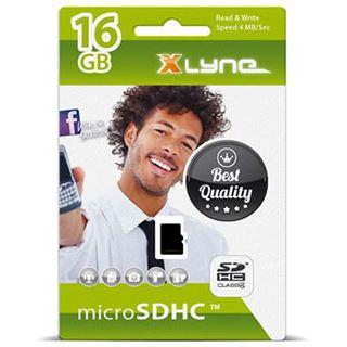 16 GB xlyne 7416000 microSDHC Class 4 Retail