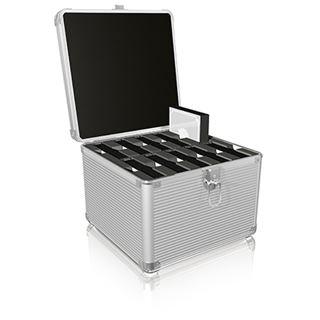 """ICY BOX IB-AC628 Schutzkoffer für 10x 3,5""""/2,5"""" HDD´s (70628)"""