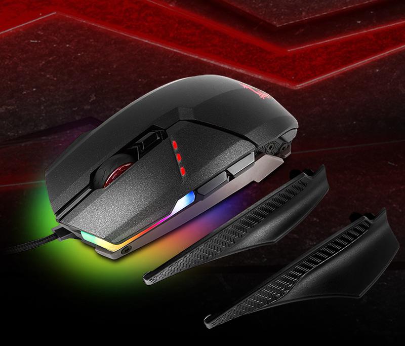 MSI Clutch GM60 USB schwarz (kabelgebunden)